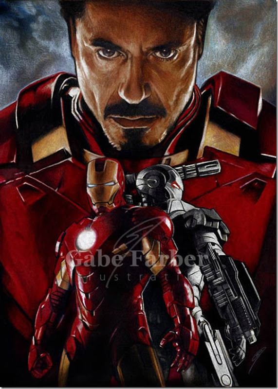 Iron man ,Anthony Edward ,Tony Stark (12)