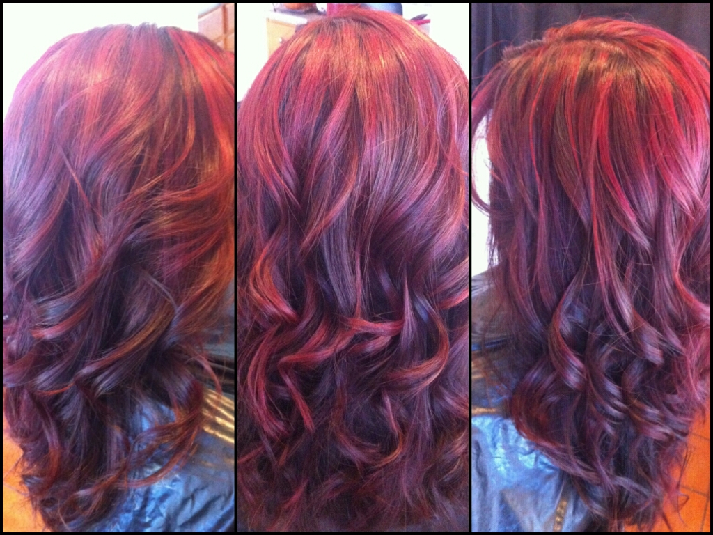 Healthy Hair Is Beautiful Hair Red Highlights