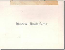 Wandaline Carter