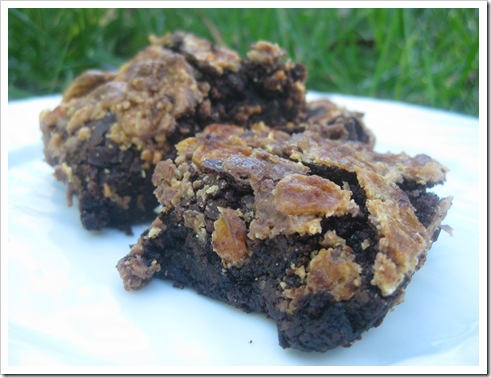 butterfinger brownies 043