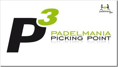 Padelmanía y su sistema Picking Point P3: recoge tu pala en el club más cercano.