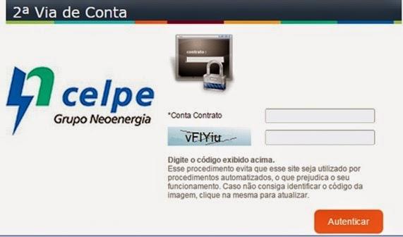 celpe-2via-de-conta-segunda-via-de-luz-www.2viacartao.com
