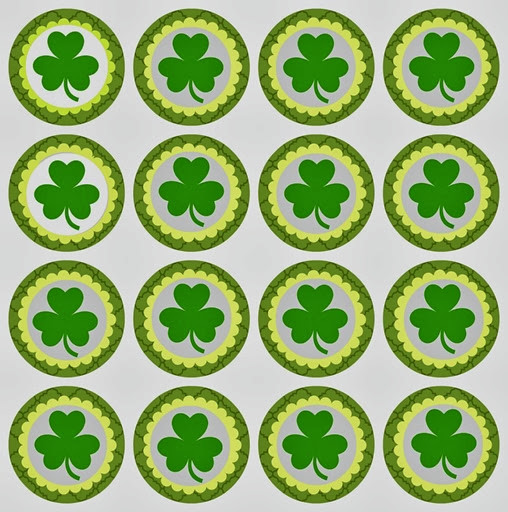 St. Pat's Cupcake Toppers