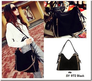 SY 972 BLACK (192.000) - PU Leather, 27 x 27 x 15