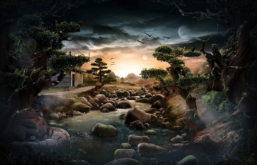 fantasy_lake_by_paullus23-d4bynrr