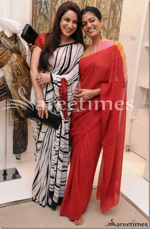 Sonia_Shetty_Satya_Paul_Saree
