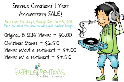 SCRS 1 Year Anniversary Sale