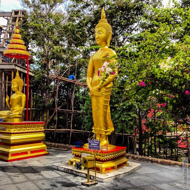 8. 2555. Таиланд. Патайя. Храм Будды. Thailand. Pattaya. Buddha temple. Будда воскресения.