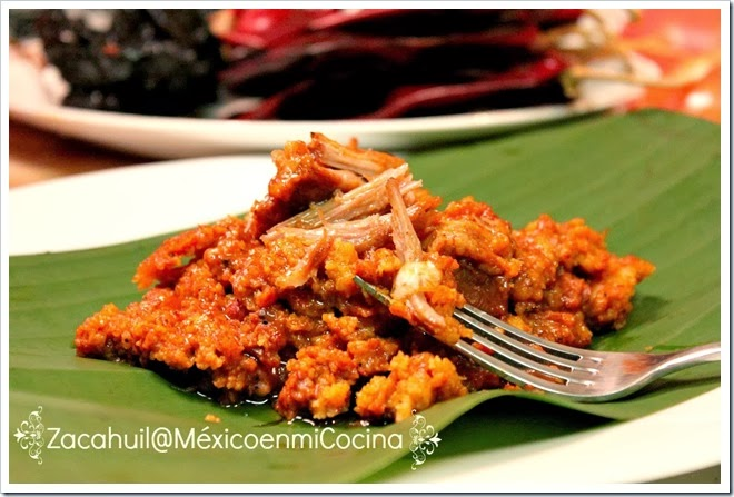 Receta de zacahuil