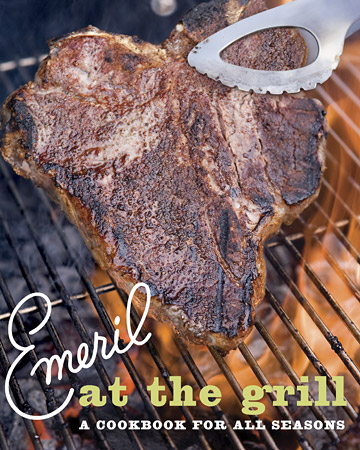 Emeril at the Grill is also available in the Martha Stewart family of cookbooks.
