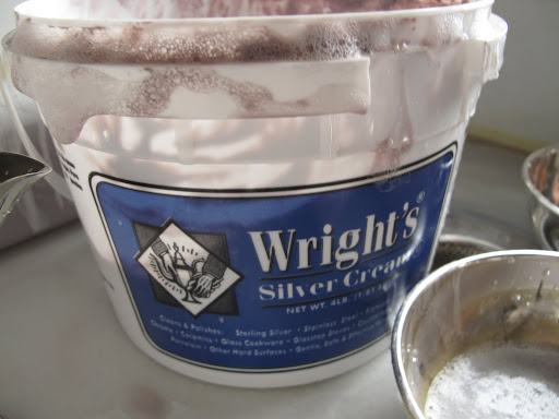 Martha only uses Wright's Silver Cream.  The history of this stuff is really fascinating - apparently old Mr. Wright got the idea for this product when he found a cow stuck in mud.