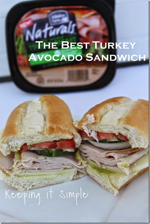 The-best-ever-turkey-avocado-sandwich #hillshirenaturals