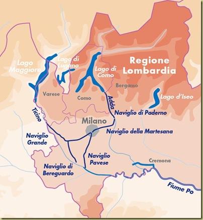 navigli canal map