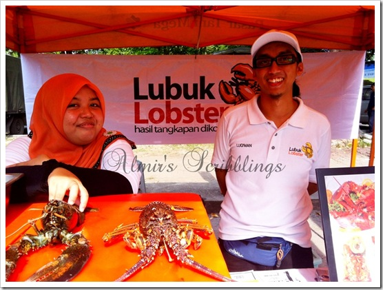 Luqman Lubuk lobster