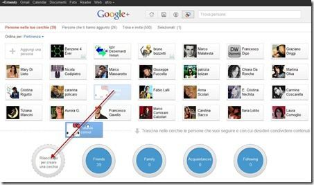 cerchie google