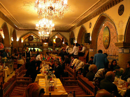 Traditional Persian restaurant in North Teheran