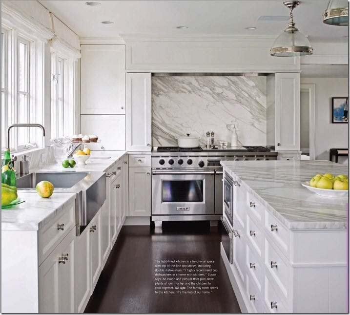 Brilliant White Kitchens with White Carrara Marble 717 x 645 · 94 kB · jpeg