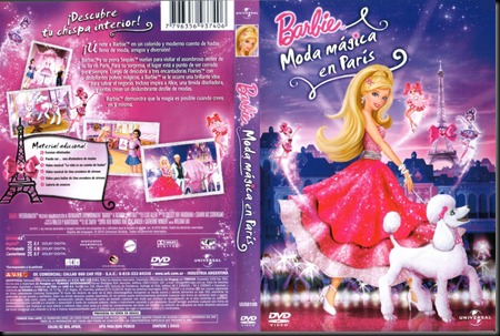 Barbie Moda Magica En Paris Region 4 Por Seba19 - dvd