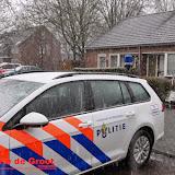 Wiettoppen in beslag aan Anne Frankstraat Oude Pekela - Foto's Gerrie de Groot