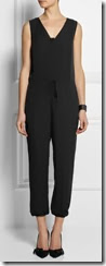 Theory Silk Crepe Jumpsuit