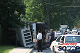 Overturned Truck On Paiken Drive In Spring Valley (Moshe Lichtenstein) - IMG_4435.JPG