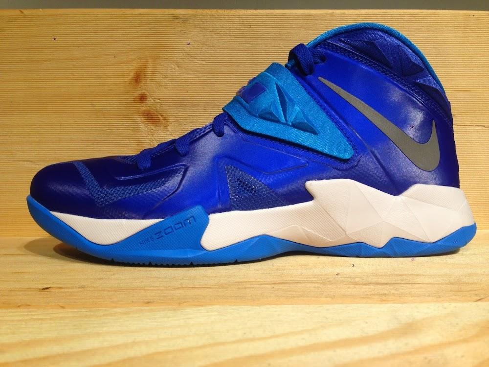 Nike LeBron Soldier 7 Metallic Silver Blue