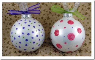 Pretty Little Owl Ornaments - back
