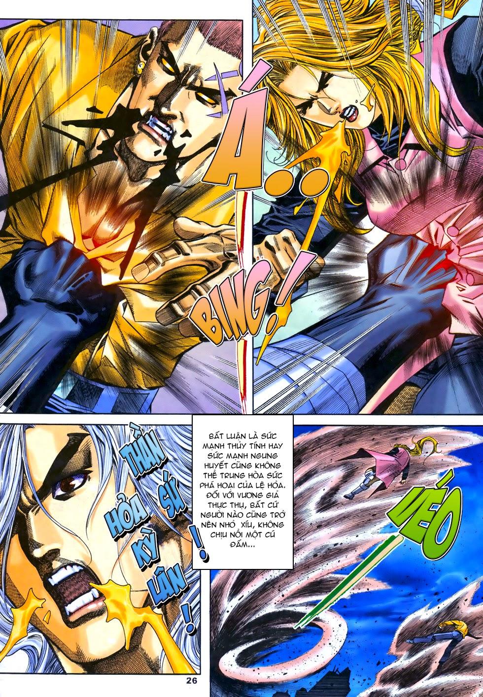 X Bạo Tộc chap 67 - Trang 26