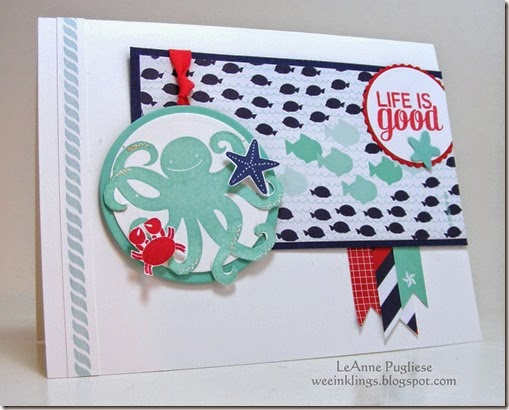 LeAnne Pugliese WeeInklings Paper Players 237 Sea Street Stampin Up