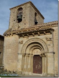 Portada y campanario - San Martín de Artáiz - Románico en Navarra