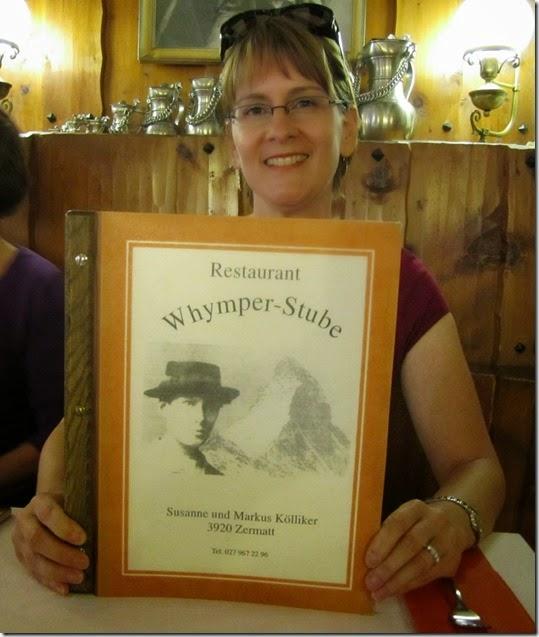 Restaurant Whymper-Stube Simone