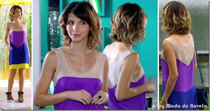 moda da novela Cheias de Charme - look da Isadora dia 7 de maio de 2012