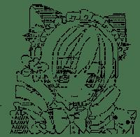 Tomoe Mami & Kyubey (Puella Magi Madoka Magica)