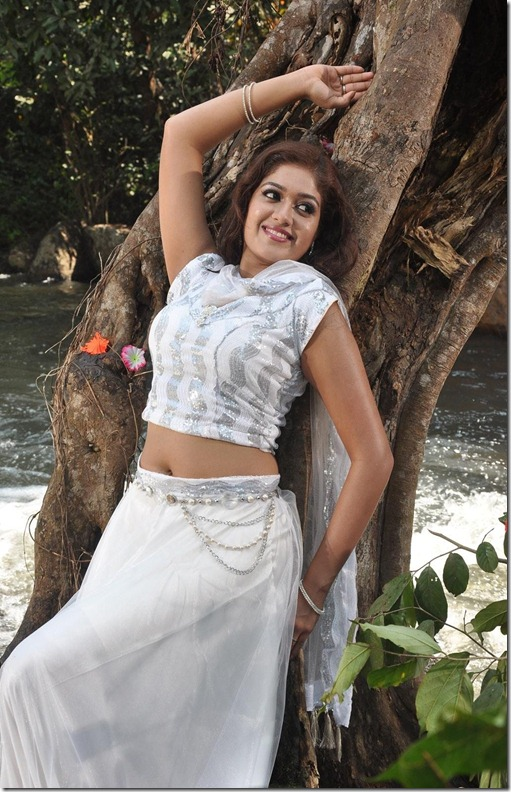 Actress Meghna Raj Navel Show Photos