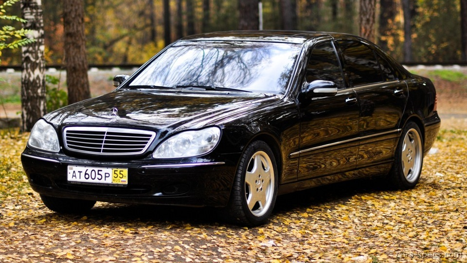 2003 mercedes benz s class s55 amg specifications for Mercedes benz s500 2003