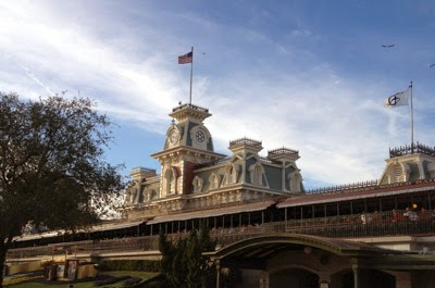 Magic Kingdom train station 1