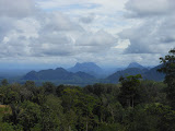 View from the lower slopes of Gunung Talakmau (Dan Quinn, May 2013)