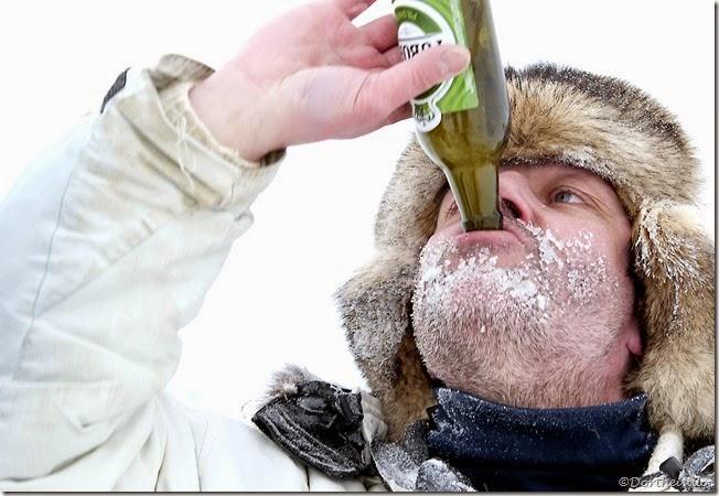 Det er godt med en kold øl