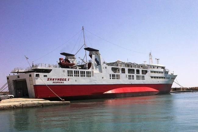 Επιβάτης έβαλε φωτιά στο «Ζάκυνθος»