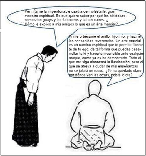 Artes de Caballería: El aikido y las artes marciales