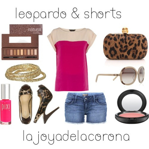 leopardo y jeans