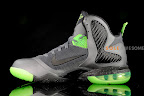 nike lebron 9 gr black green dunkman 3 08 Another Look at Nike LeBron Dunkman   Different Version
