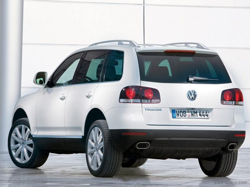 2008 volkswagen touareg 2 suv specifications pictures prices. Black Bedroom Furniture Sets. Home Design Ideas