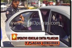 IMAG. OPERATIVO VEHICULAR CONTRA POLARIZADO Y PLACAS VENCIDAS.mp4_000012545