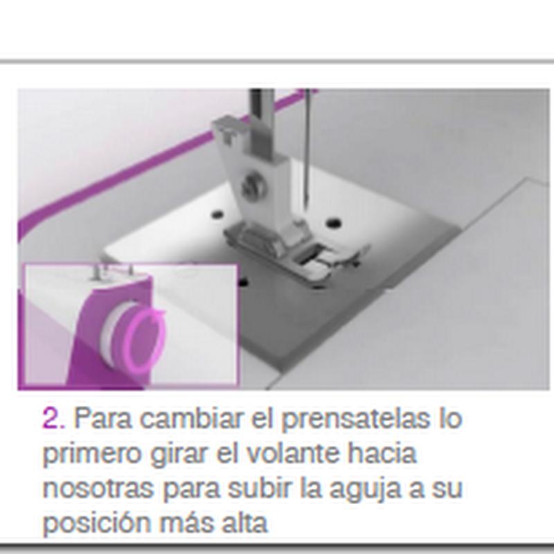 Hacer ojales con máquina de coser tutorial