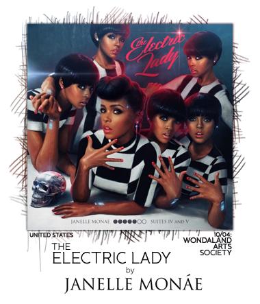 The Electric Lady by Janelle Monáe
