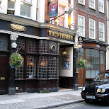 buckingham bar in London, London City of, United Kingdom