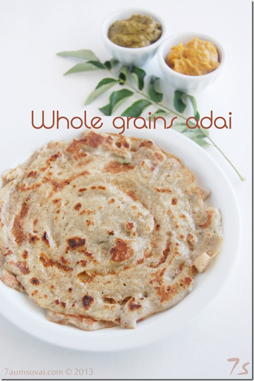 Whole grains adai