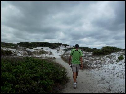 Dune hike & rain paddle 017