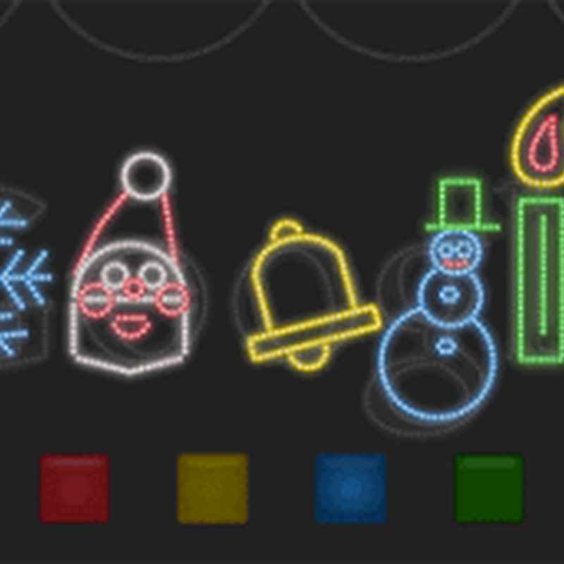 Happy Holidays Google Doodles 1999 to 2011
